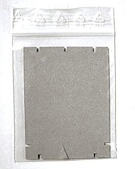 10 Stk. Original Bündner Nymphensatz - Karton mit Grip
