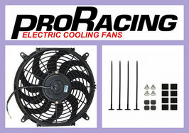 "12"" Radiator Fan with Fitting Kit - PRO Racing"
