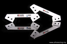 JZA80 Toyota Supra Rear Lower Brace (4pt)