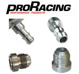 PRO Racing Weld On Fittings - Alloy & Steel - AN & Hose Barb