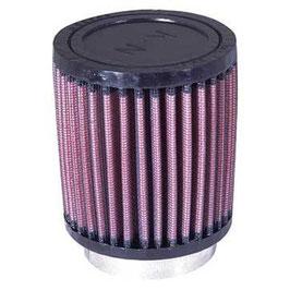 "K&N RU-0800 Universal Clamp-On Air Filter - Air Filter 2.5"" (63mm) Inlet"