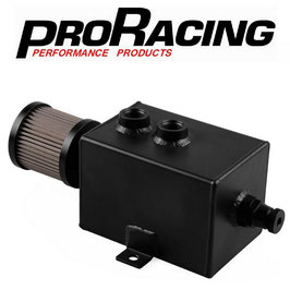 PRO Racing 2 Litre Oil Catch Can - Baffled