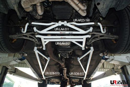 Subaru GC8 WRX Front Lower Brace