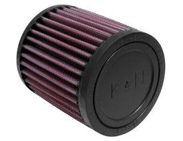 "K&N RU-0500 Universal Clamp-On Air Filter - Go Kart Air Filter - 2"" (51mm) Inlet"