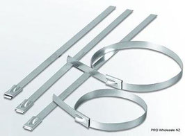 Stainless Steel Lock Ties 4.6mm Wide