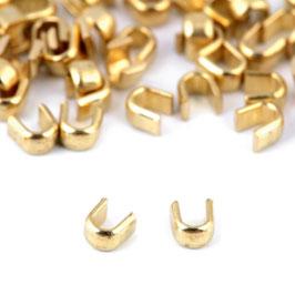 Endstücke (oben) 3mm Gold