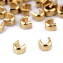 Endstücke 5mm Gold (Oben)