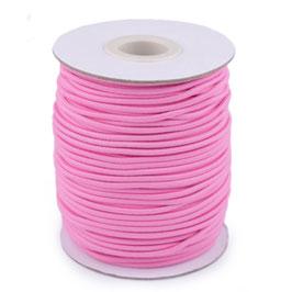 Gummikordel 2,0mm rosa