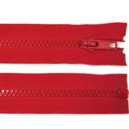 Reißverschluss high risk red 45 cm teilbar