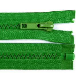 Reißverschluss fern green, 45 cm teilbar