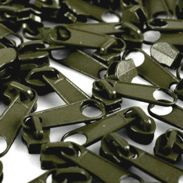 Zipper 3mm olive night