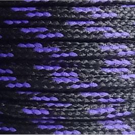 Polyesterschnur 4mm schwarz - violett