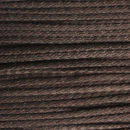 Baumwollkordel 4mm dunkelbraun