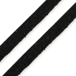 Flachkordel 10mm schwarz
