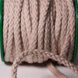 Baumwollkordel 5,3mm beige