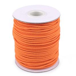 Gummikordel 2,0mm orange