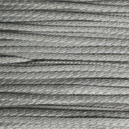 Baumwollkordel 4mm hellgrau