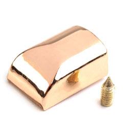 Endstücke 10*14mm Gold