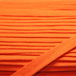 Flachkordel/Hoodieband 14mm orange
