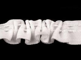 Gardinenband 20 mm weiß