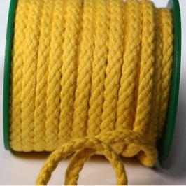 Baumwollkordel 5,3mm gelb