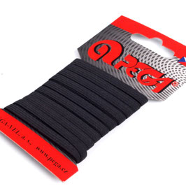5 Meter Gummiband 5mm schwarz