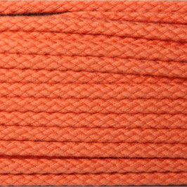 Baumwollkordel 4mm orange