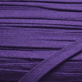 Flachkordel/Hoodieband 14mm violett