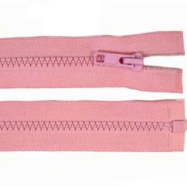 Reißverschluss gossamer pink 45 cm teilbar