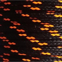 Polyesterschnur 4mm schwarz - neonorange