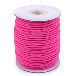 Gummikordel 2,0mm pink
