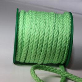 Baumwollkordel 5,3mm frühlingsgrün