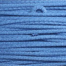 Baumwollkordel 4mm blau
