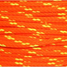 Polyesterschnur 4mm neonorange-gelb