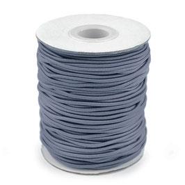 Gummikordel 2,0mm grau-blau
