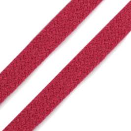 Flachkordel 10mm pink