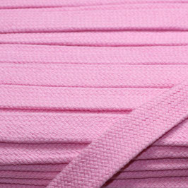 Flachkordel/Hoodieband 14mm rosa