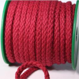 Baumwollkordel 5,3mm weinrot