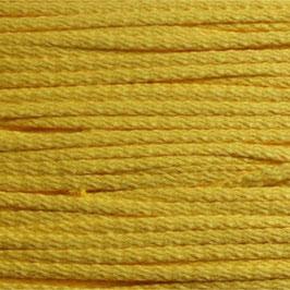 Baumwollkordel 4mm gelb