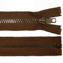 Reißverschluss friar brown 45 cm teilbar