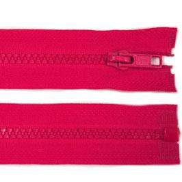 Reißverschluss pink, 40 cm teilbar