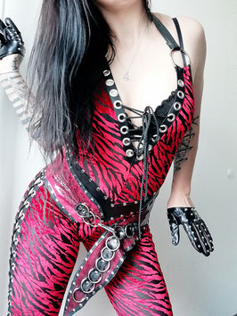 Roter Tiger Catsuit #2