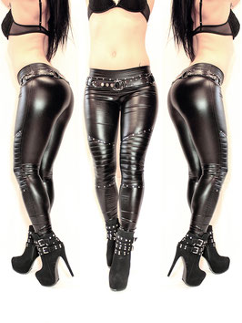 Studded Wetlook Leggings #1/6.2