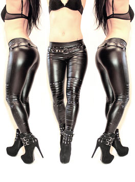 Studded Wetlook Leggings #1/5.2