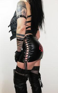 Black Wetlook Skirt #3/1.2