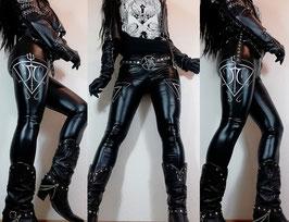 D.C. 'Satanic Logo' Leggings #4/2