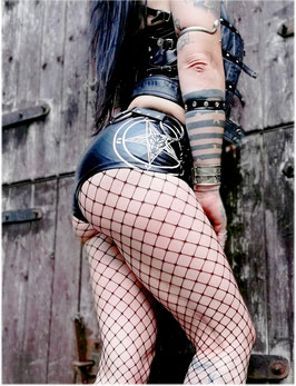 Pentagram Wetlook Hotpants #4/4