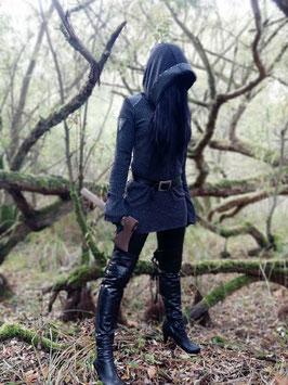 Death Vision - Feinstrick Longshirt #1