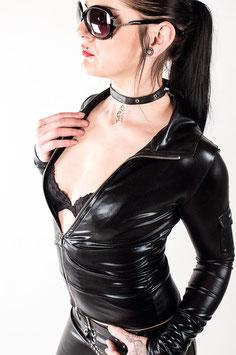 Black Cat - Wetlook Jacket #1