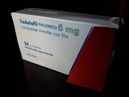 TADALAFIL GALENICO  5 mg - 28 compresse  -  INCLUDE  PRESCRIZIONE MEDICA